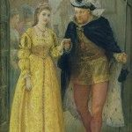 8 January 1536 – The King was clad all over in yellow