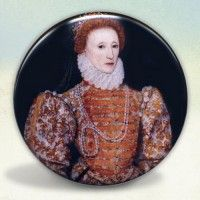 Elizabeth I Darnley Portrait Pocket Mirror