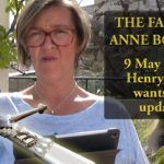 9 May 1536 – Henry VIII wants an update – The Fall of Anne Boleyn