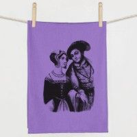 Anne Boleyn and Henry VIII Flour Sack Towel
