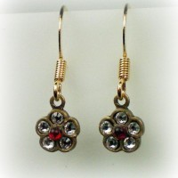 Elizabeth Flower Earrings
