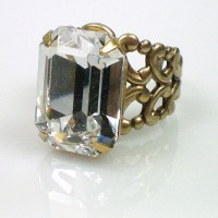 Elizabeth Crystal Ring