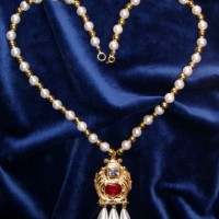Princess Elizabeth Pendant and Necklace