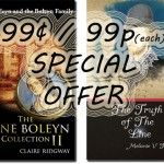 The Anne Boleyn Collection II and The Truth of the Line are Kindle Countdown Deals 18-20 August