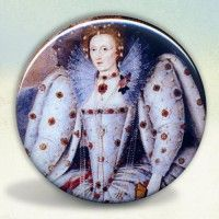 Elizabeth I Ditchley Pocket Mirror