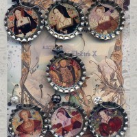Henry VIII and his Six Wives Drink Charms Set