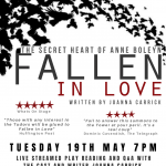 Fallen in Love – Live play reading this May!