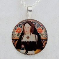 Katherine of Aragon Sterling Pendant