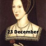 23 December's Tudor Treats and a giveaway!