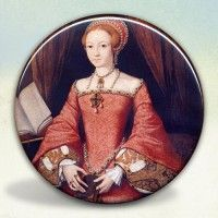Princess Elizabeth Tudor Pocket Mirror