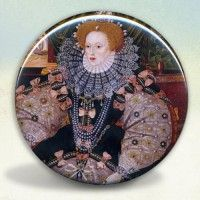 Elizabeth I Armada Pocket Mirror