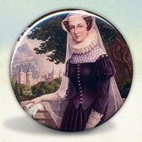 Mary Queen of Scots Pocket Mirror