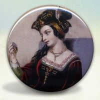 Anne Boleyn Gazing – Pocket Mirror