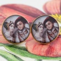 Anne and Henry Cufflinks