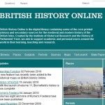 Help British History Online with a Quick Test