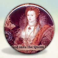 Elizabeth I Rainbow Portrait Pocket Mirror
