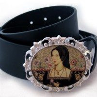 Anne Boleyn Belt Buckle & Belt