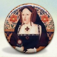 Catherine of Aragon Pocket Mirror