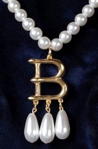 Anne Boleyn B Necklace