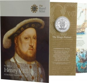 Henry VIII Coin Pack