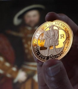 Henry VIII Gold Coin