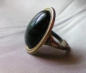 Henry VIII Onyx Ring