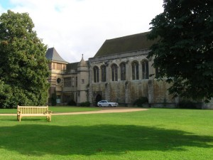 Eltham Palace, one of the locations of the alleged offences.