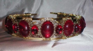Anne Boleyn Ruby Headdress