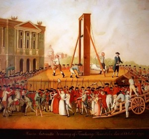 The Execution of Marie Antoinette