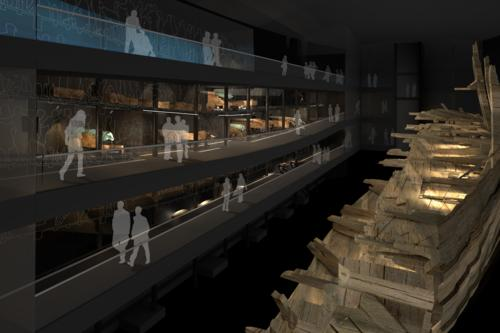 Inside the Mary Rose Museum