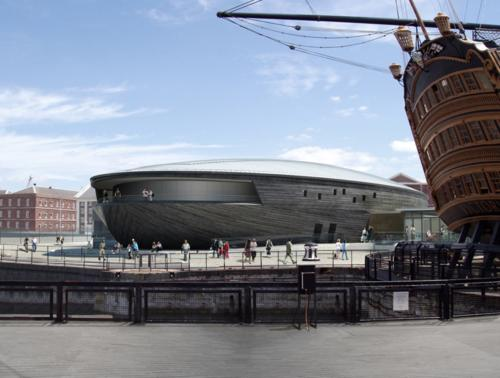 The new 2012 Mary Rose Museum