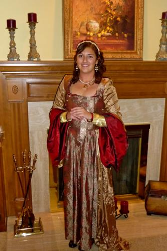 Tara as Anne Boleyn