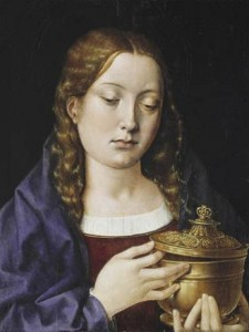 Catherine of Aragon as Mary Magdalene by Michael Sittow