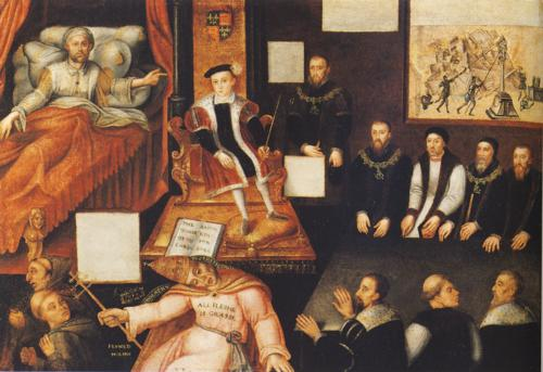 Edward VI and the Pope: An Allegory of the Reformation