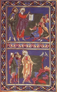 Page from the Bury Bible