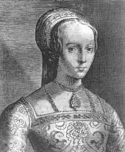 Lady Jane Grey - An Engraving by Willem van de Passe