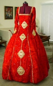 Anne Boleyn Dress