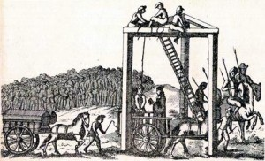 The Tyburn Tree - the gallows
