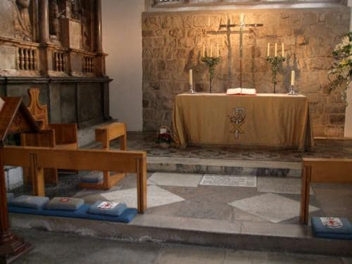 The Chancel, St Peter ad Vincula. (Photo by Paudie Kennelly)