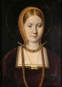 Katherine of Aragon by Michael Sittow