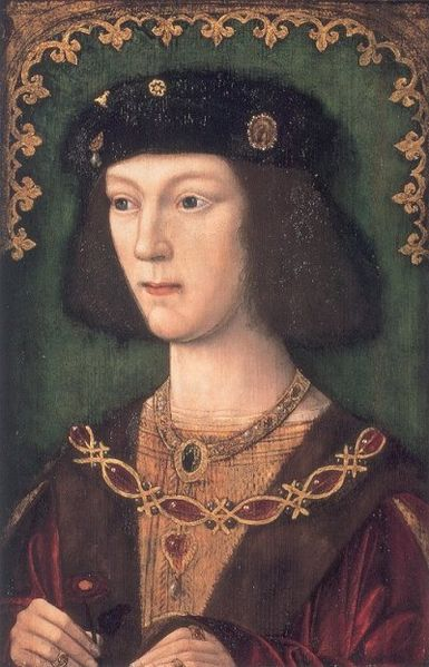 Henry VIII in his youth