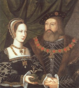 Mary Tudor, Queen of France, and the Duke of Suffolk