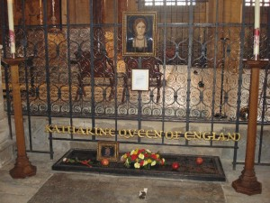 Katherine of Aragon's tomb
