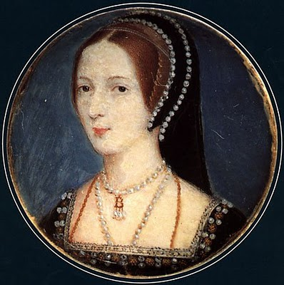 Hoskins miniature of Anne Boleyn