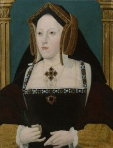 NPG 163,Catherine of Aragon,by Unknown artist