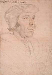Sir William Fitzwilliam, Earl of Southampton and Treasurer of the Household.
