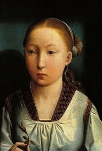 Catherine of Aragon by Juan de Flandres.