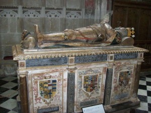Ambrose Dudley's tomb