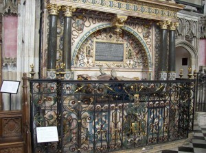 The tomb of Robert and Lettice Dudley