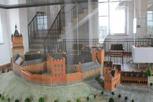 How the castle looked in Anne of Cleves' time.